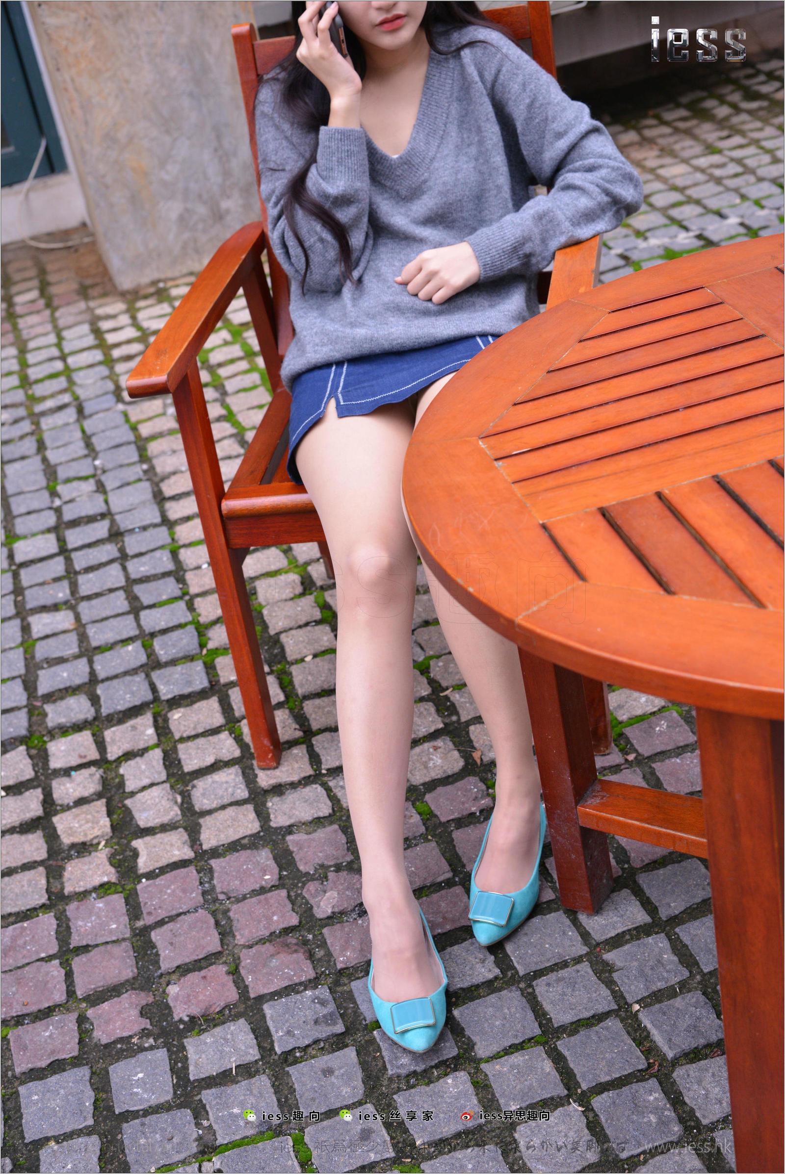 诗琪 《蓝色小平跟》双十一特辑  丝足写真