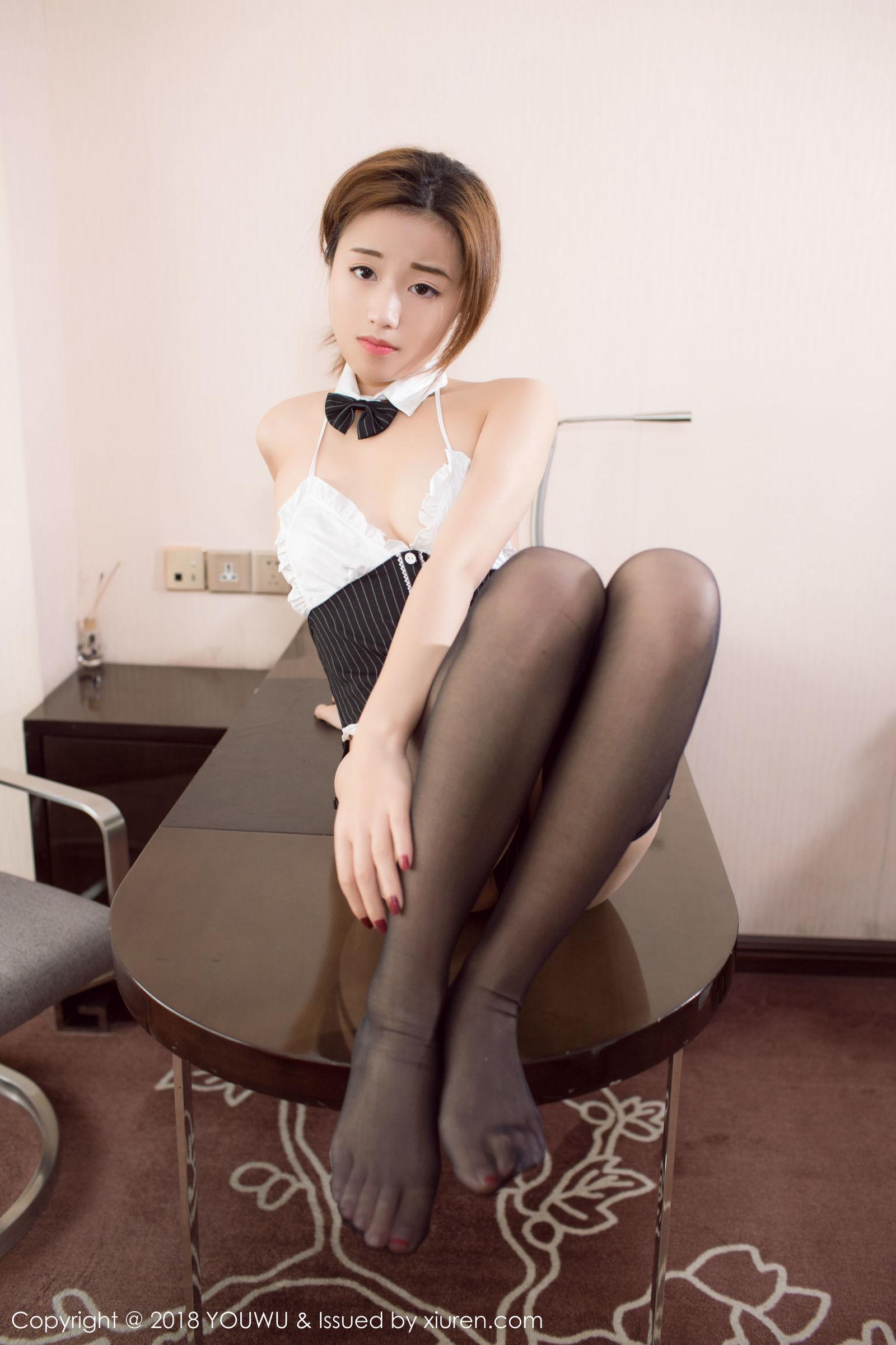 仓井优香 - 黑丝吊袜写真
