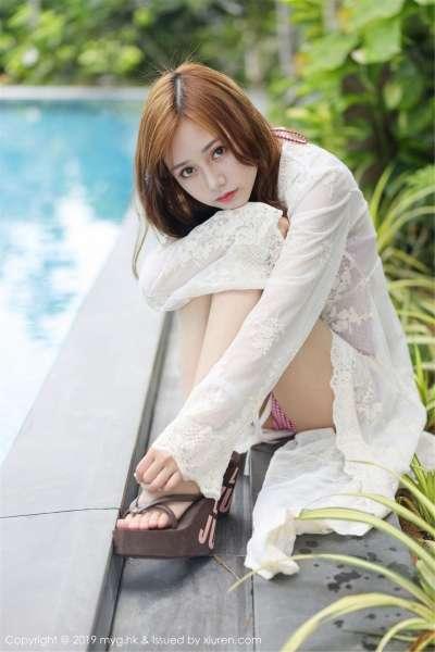 模特@羽住real越南旅拍写真