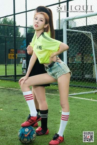 Model 兔子&凉儿&甜甜&允娜 - 足球丝足