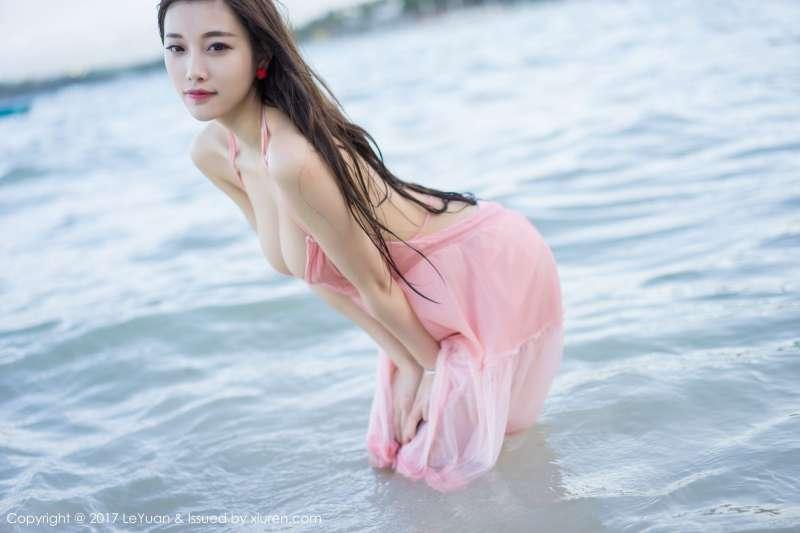 女神-杨晨晨sugar海边性感写真套图