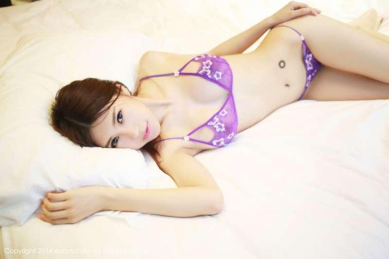绮里嘉ula-性感内衣+泳装写真