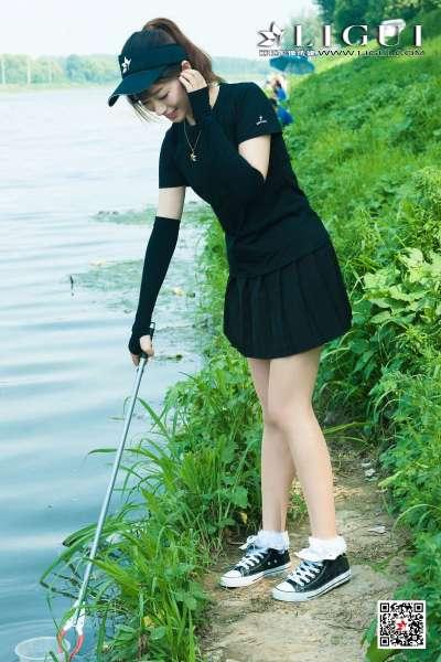 安娜Anna - 极品钓鱼丝足女神