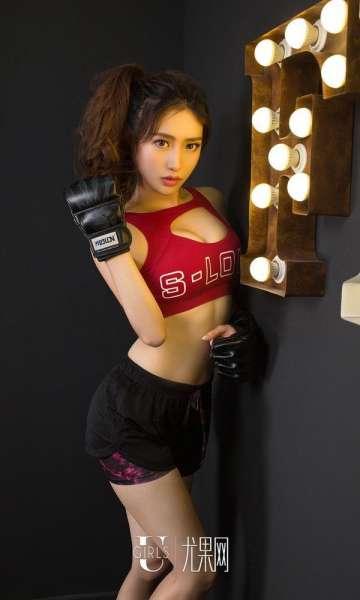 拳击性感美女