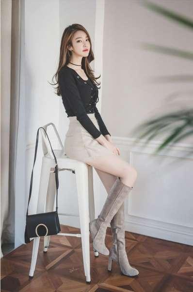 绝美长腿纤腰高挑美女