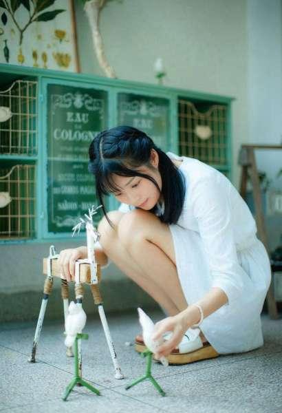 刘海美女唯美私房照