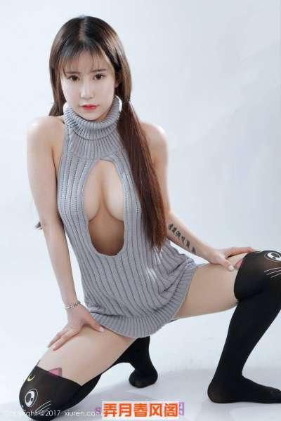 性感萝莉毛衣写真巨乳诱人